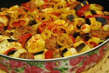 Patlıcanlı Köfte Dizmesi Tarifi