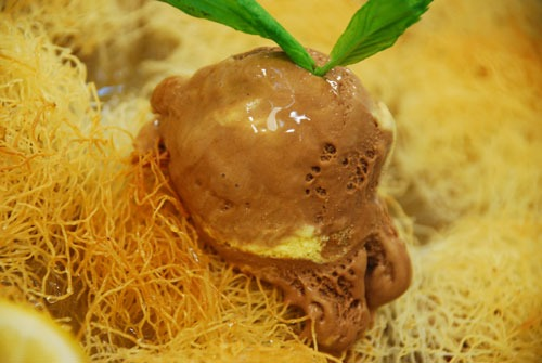 Dondurmalı Cevizli Kadayıf Tatlısı Tarifi