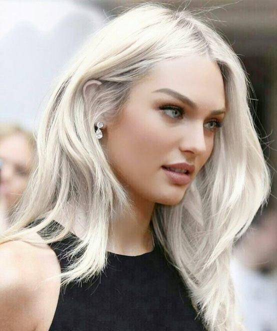 Beyaz Sarı Saç Rengi