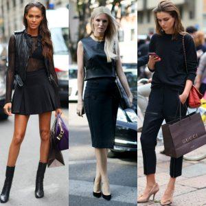 siyah moda