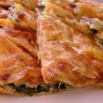 Ispanaklı Patatesli Üçgen Börek Tarifi