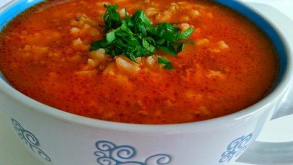 Kıymalı Pirinç Çorbası Tarifi