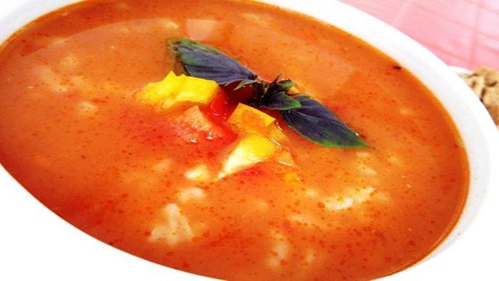 Photo of Pirinçli Domates Çorbası Tarifi