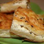 Kolay Peynirli Tepsi Çöreği Tarifi