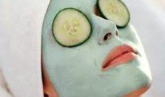 Cilt İçin Salatalık Maskesi