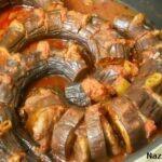 Fırında Beli Bükük Patlıcan Kebabı Tarifi
