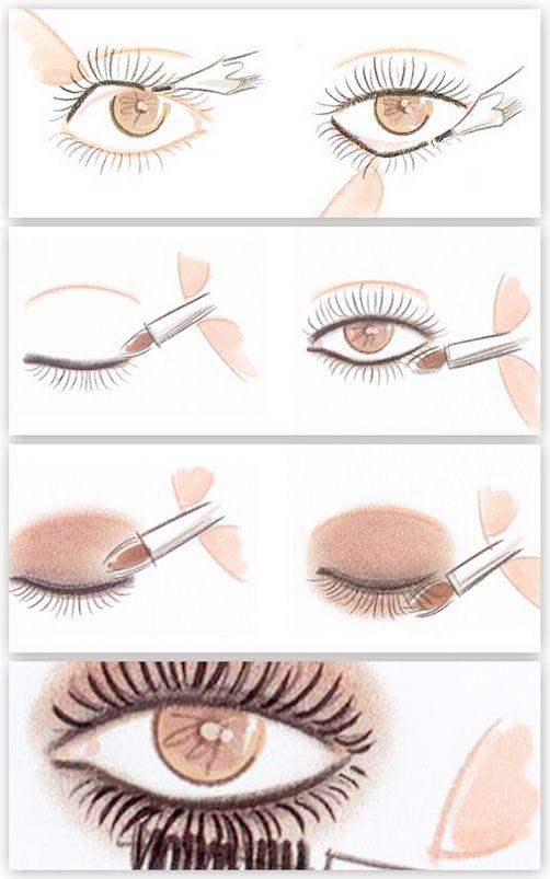 Smokey eyes makyaj nasıl yapılır resimli anlatım