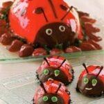 Uğur Böceği Pastası Tarifi