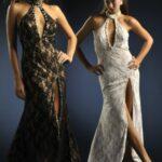 2012 Yırtmaçlı Elbise Modelleri
