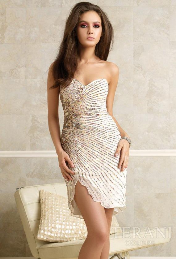 2016 Abiye Kısa Elbise Modelleri