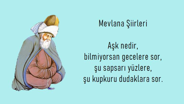 Photo of Mevlana Celaleddin Rumi şiirleri