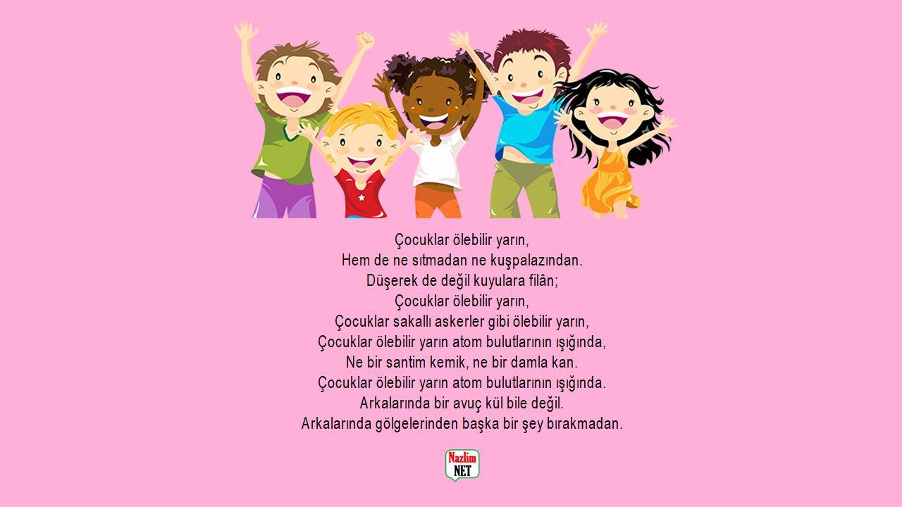 Çocuk şiirleri