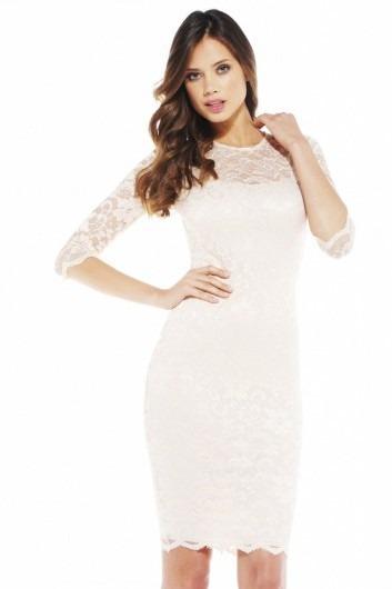 2014 Beyaz Abiye Elbise Modelleri