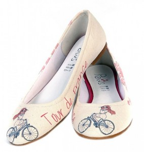 Bisikletli-kız-resimli-babet-modeli