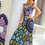 2015 Bayan Örgü Elbise Modelleri