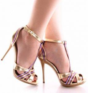 2014 Yazlık Topuklu Ayakkabı Modelleri