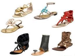 Sandalet Ayakkabı Modası