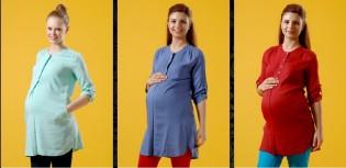 Yazlık Hamile Kıyafet Modelleri