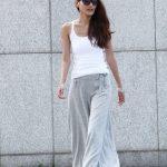 Yazlık Keten Pantolon Modelleri Bayan