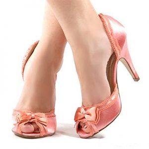 Yazlık Topuklu Ayakkabı Modeli