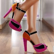 Yazlık Topuklu Ayakkabılar