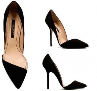Zara Topuklu Ayakkabı Modeli
