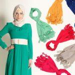 bayramlık tesettürlü elbiseler