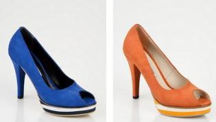 renkli abiye ayakkabilar