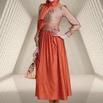 tesettürlü bayramlık elbiseler 2014