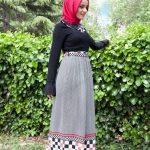 tesettürlü bayramlık kıyafetler 2016