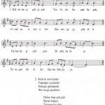 23 Nisan Şarkı Notaları Melodika Notası