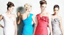 Drapeli Abiye Elbise Modelleri