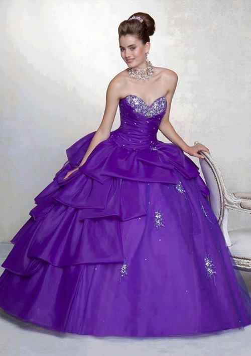 Kabarık Abiye Elbise Modelleri