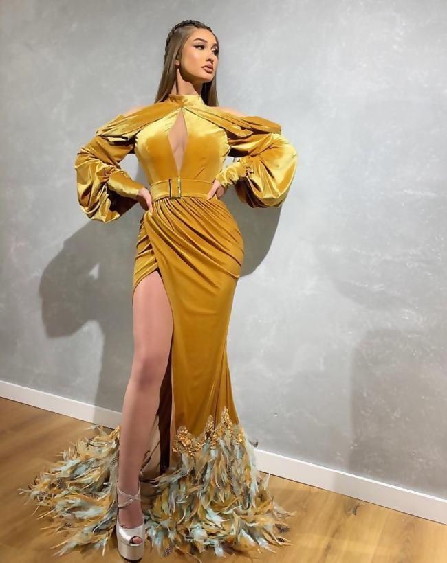 Drapeli Elbise Modelleri