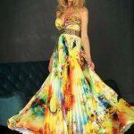 Şifon Abiye Elbise Modelleri 2015