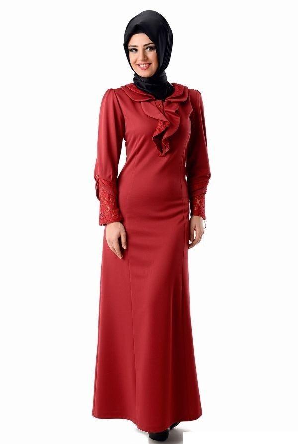 Tozlu Giyim Tesettür Abiye Elbise Modelleri