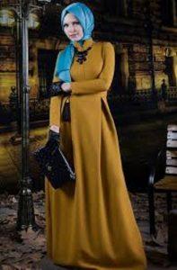 hardal-sarısı-elbise-2016