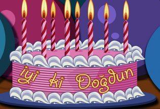 resimli doğum günü mesajları