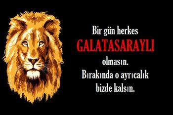 Galatasaray Sözleri Resimli