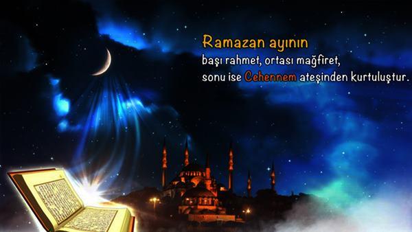 Ramazan Ayı Sözleri Resimli