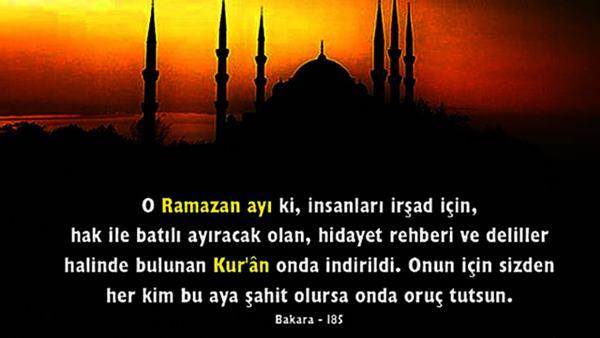 Ramazan Mesajları Resimli