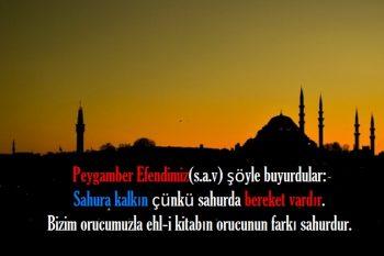 Ramazan oruç iftar mesajları