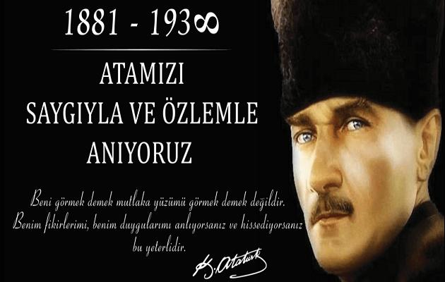 10 Kasım Atatürk Resmi