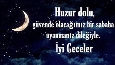 Photo of İyi Geceler Mesajları