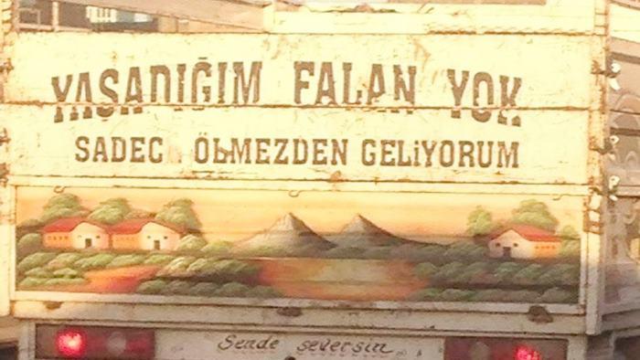 Photo of Kamyon Arkası Sözleri