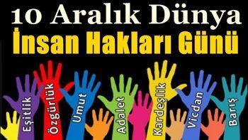Dünya İnsan Hakları Günü İle İlgili Sözler