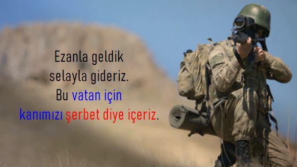 Asker Sözleri