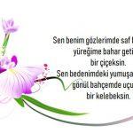 Çiçek Kartı Mesajları