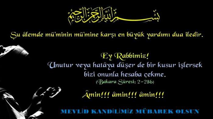 Photo of Mevlid Kandili Mesajları