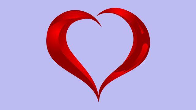 Aşk kalp resmi
